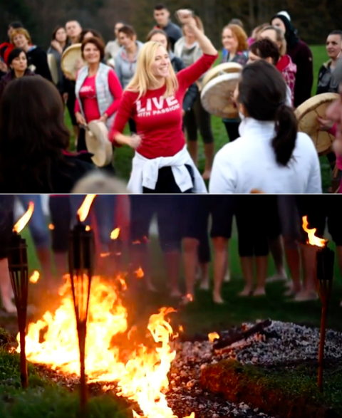 Firewalking events